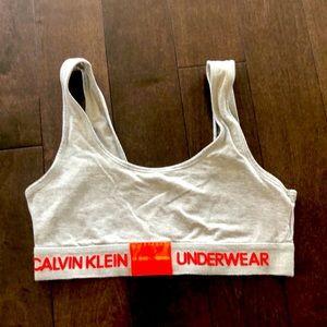 CK underwear bralette